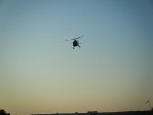 Avvicinamento elicottero aviosuperficie