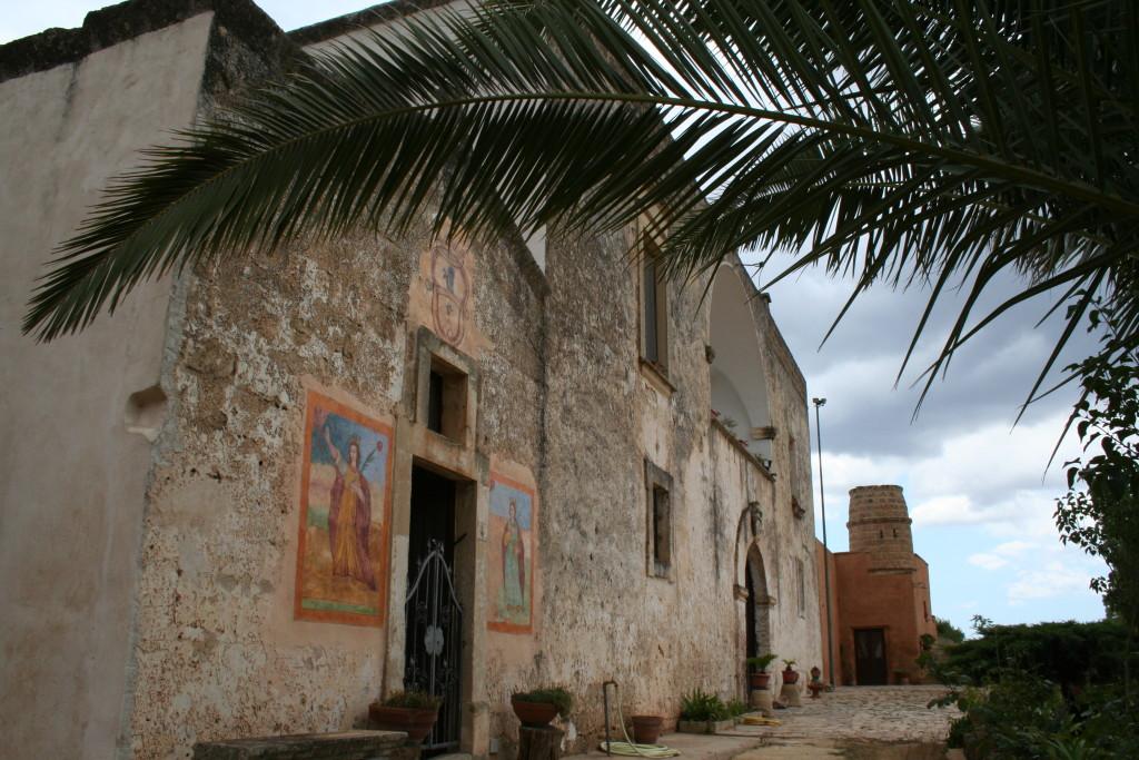 Veduta lato Masseria